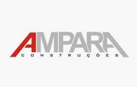 Logo Ampara Construções