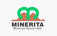 Logo Minerita Minérios Itaúna Ltda.