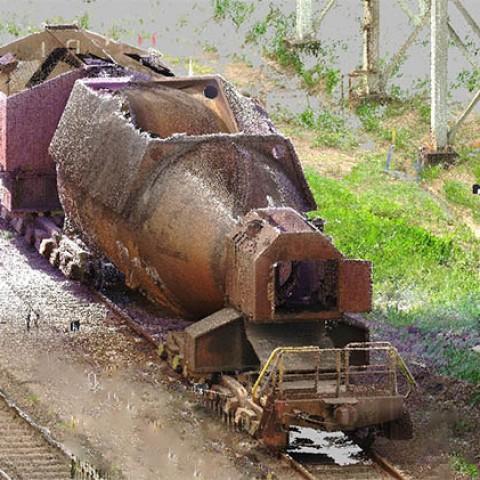 Escaneamento de carro torpedo