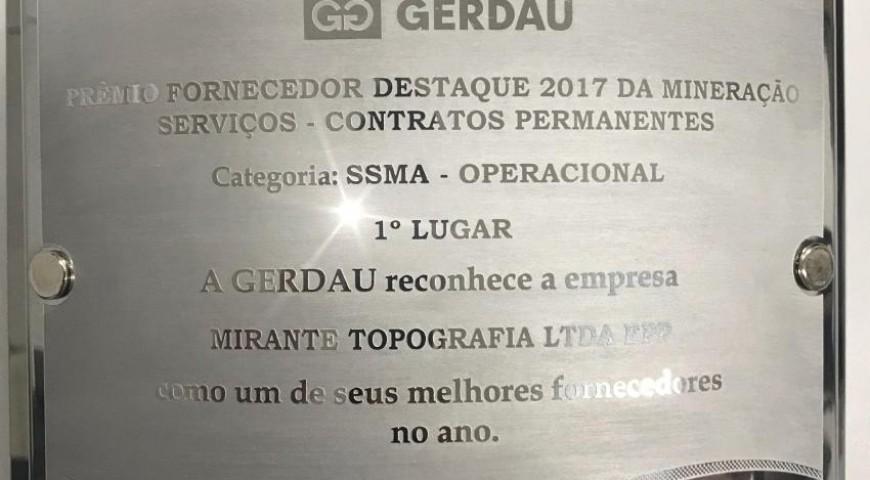 Prêmio fornecedor destaque