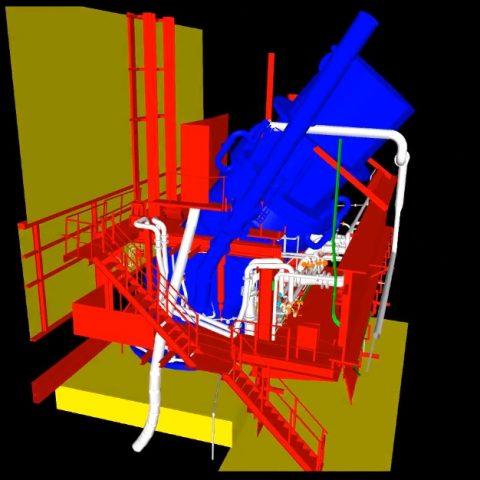 As-built do sistema de fluidos