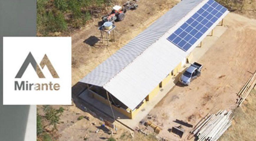 Como a Mirante utiliza a energia fotovoltaica